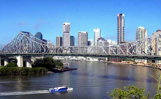 Story Bridge and Brisbane CBD