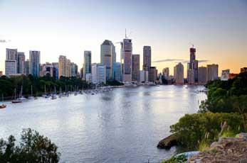 Brisbane skyline 2011