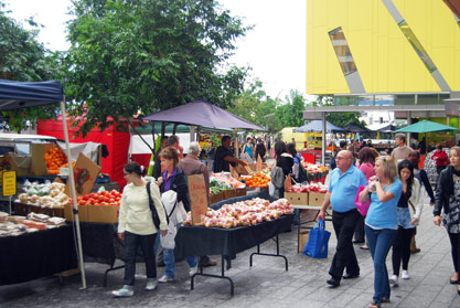 City Markets in Brisbane CBD