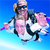Tandem skydive over Brisbane