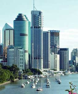Brisbane CBD and skyline