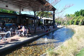 South Bank Parklands cafe